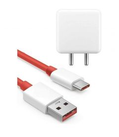 HHAMMERTECH Oneplus Dash Charger GLH05A1500YG with Dash Charging Type C Cable 1 Meter for Oneplus 3/3T/5/5T/6/6T/7