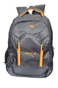 Move On 38 Litre Waterproof Backpack (Black Orange)