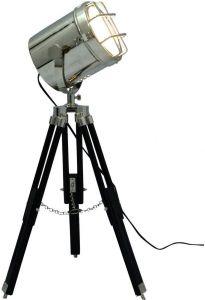 OCEAN REPLICAS Spotlight Decor Retro Tripod Floor Lamp Spotlight Nautical Lighting - (Diameter : 6.29 inch & 26.75 inches tall)