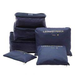 Cloth Organizer Pouch Laundry Zipper Bags (6 pcs)