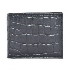 ASPENLEATHER Genuine Leather Wallet For Men (Black)