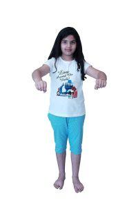 Babydoll - Girls Kids Night Suit Super Soft Nightwear Cotton Hosiery Top &  Payjama Set|Night Suit