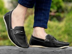 BXXY Men's Boys Casual Loafer Latest Shoes All Shoes Black Style: 577A