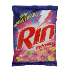 Rin Bring you Brilliant Whiteness on Your Clothes Detergent Powder (Pack of 1) | (1kg)