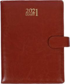 Toss Luppi 2021 B5 Diary Ruled 330 Pages For Girls, Boys & Friends (6025-Tan) (Pack Of 1)