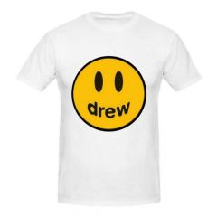 Evergreen Collection Casual White  Jusitn Bieber Drew T-Shirts for Girls and Boys