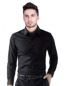 Peppyzone Men's Stylish Regular Fit Formal Shirt (Pack of 1)