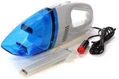 Khodiyarfashion Powerful Portable and High Power Plastic 12V High Power Handheld Portable Lightweight Vacuum Cleaner for Car Cleaner, (Multicolour)