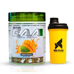 Bigflex EAA (Essential Amino Acids) Green Mango 450 Gm With Bigflex Shaker FREE