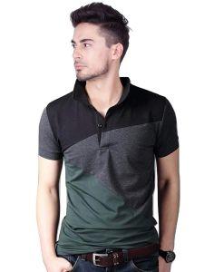 Peppyzone Regular Fit Polo T-Shirt For Men's (Pack of 1)