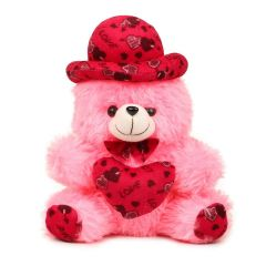 Ethnic Forest Soft Toys Extra Large Very Ethnic Forest Soft Lovable/Huggable Teddy Bear for Girlfriend/Birthday Gift/Boy/Girl (32 cms, Pink)