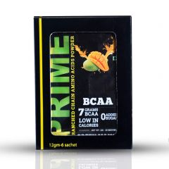Bigflex Prime BCAA Green Mango 12 gm Each (6 Sachet of 1 Pack)
