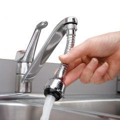 Nirva Turbo Flex 360 Flexible Faucet Sprayer Water Extender