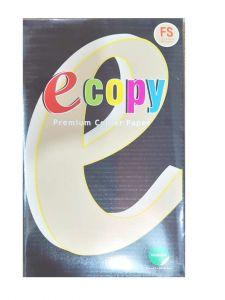 Khanna E-copy School/Office Essentials 75gsm White Premium FS/Legal Size Copier Paper 1 Ream (500 Sheets)