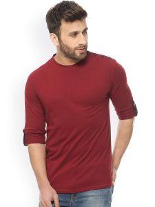 Fashion Gallery Tshirts for Men Plain|Mens Cotton Tshirt|Tshirts for Men Full Sleeve