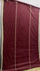 Bamboo Curtains for Balcony, Windows, Privacy and Sun Shade (Maroon) | Pack of 1
