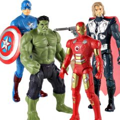 World of Needs 4 in 1 Small Avengers Set of Toy Action Figures WON