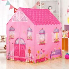 Ethnic Forest Play House for Kids | Lightweight Waterproof Tent House for Boys and Girls |Pretend Play /Tent House with Cartoon Characters | Play House for Kids. (Doll House)