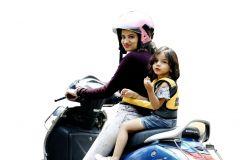 Kidsafe 2 Wheeler Child Safety Belt (Cool Elegant Yellow)