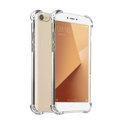 Caresale Xiaomi Redmi Mi 6A Back Case Cover Transparent Anti Drop Shockproof with Bumper Corner Screen and Camera Protection Xiaomi Redmi Mi 6A (Transparent)
