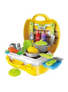 Vikas Ultimate Chef Bring Along Suitcase Kitchen Set for Kids