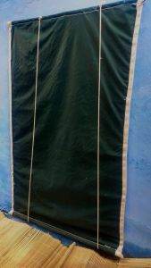Bamboo Curtains for Balcony, Windows, Privacy and Sun Shade (Dark Green)   Pack of 1