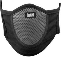 SWEET SWEAT WAIST TRIMMER Anti Dust Air Pollution Protection Biker Face Mask For Men And Women - (Black)