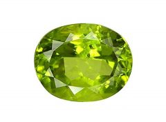 Jewelzon Certfied Peridot 5.25 to 5.80 Ratti Birthstone Stone | Certified | Astrological Gemstone | Natural