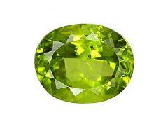 Jewelzon Certfied Peridot 4.25 to 4.80 Ratti Birthstone Stone | Certified | Astrological Gemstone | Natural