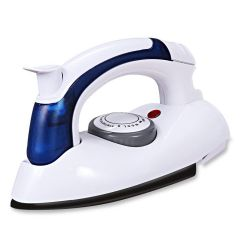 Travel Mini Iron with Steamer Removes wrinkles from almost any fabric (Pack of 1)