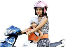 Kidsafe Two Wheeler Child Safety Seat Belt, Cool Orange Angry Bird