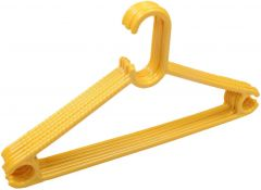 Nilkanth Fashion Heavy Duty Multipurpose Plastic Clothes Hanger (Pack of 12) (Yellow) Roll over image to zoom in Nilkanth Fashion Heavy Duty Multipurpose Plastic Clothes Hanger (Pack of 12) (Yellow)