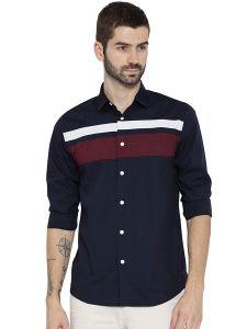 Peppyzone Men's Stylish Full Sleeve Cotton Casual Shirt (Pack of 1)