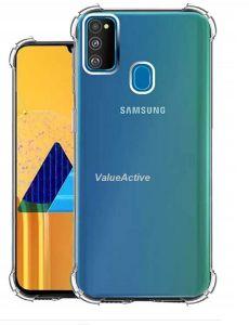 Generic Back Cover for Samsung M30s Bumper Transparent