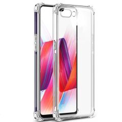 Generic Silicon Full Protection Back Cover for Realme C2 (Transparent) Shockproof Ultra Thin