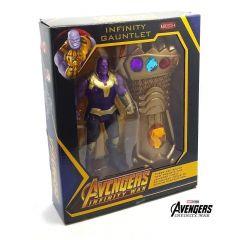 WON Avengers Titan Hero Action Figure 6.5 Inch/17 cm with Thanos Hand