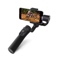SONIA Osaka 3-Axis Handheld Mobile Gimbal Stabilizer Gimble 360° Rotation Stunning Motion Time Lapse Stabilizer for Smartphone, iPhone Xs Max Xr X 8 Plus, Samsung Galaxy S9+ S8+ S7 S6