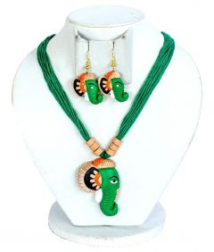 Terracotta Necklace Set for Girls & Women