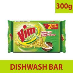 Vim Strong bar for utensils Gentle on Hands Lemon Dishwash Bar (300 gm) | (Pack of 10)