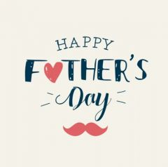 Sugacci Special Father Day Gift Card (Pack of 1)