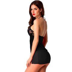 Aidmedcare Women Stylish Hot Black Honeymoon Babydoll   Pack of 1