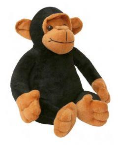 Apollo Toys | Spongy Huggable Cute Monkey Soft Toy for Kids | Washable Plush Animal Figure Toys for Kids | Super Soft | (30cm, Black)