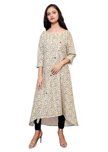 BCZ Style Women Exclusive Print On Premium European Linen Kurti