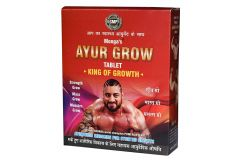 Natraj The Right Choice Ayur Grow Gym Kit Supplement For Men and Women Body Building - 360 Tablets