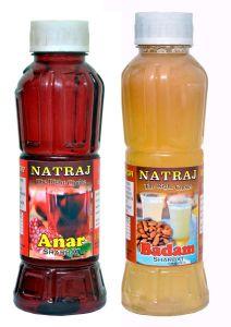 Natraj The Right Choice Sandal Sharbat & Khus Sharbat Syrup (Pack of 2 x 750 ml Bottle)