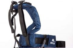 Move On Child Safety Belt for Children When Travelling on Motorbikes and Scooters. Belts Secures The Child to The Parent. Soft and Cushion Based Belt -LK Plain (FMOAIRNBLUE)