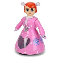 Ethnic Forest Hobby Crafts Rotational 3D Light and Musical Dancing Princess Doll