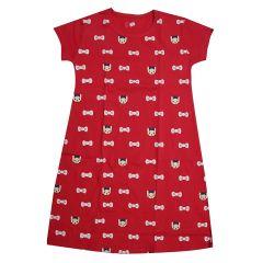 Babydoll Hydes Girls Kids Nighty | Nightdress Super Soft  | Nightwear Cotton Hosiery One Piece  Nightie