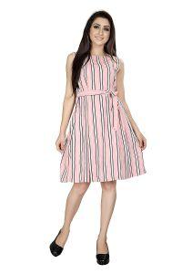 Vastra Soundarya Women's Knee Length dress (Pack of 1)
