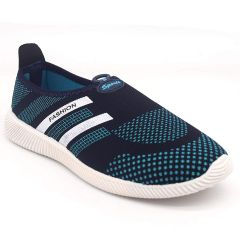 SVAAR Comfortable & Soft Blue Slip-on Running, Walking, Sports, Gym Shoes for Women's and Girls